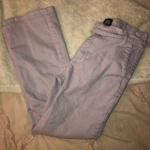 BDG lavender cropped ankle pants